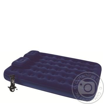 Надувний матрац Intex з подушкою та насосом