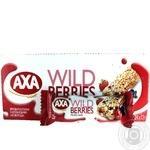 Candy bar Axa grain with berries