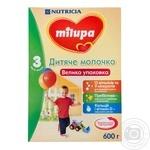 Смесь молочная сухая Milupa 3 детское молочко 600г
