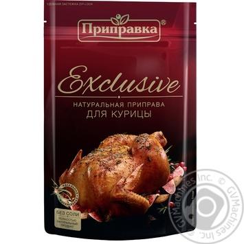Приправа для курицы Эксклюзив Приправка 50г - купить, цены на Novus - фото 2