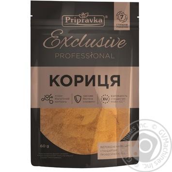 Кориця мелена Приправка Exclusive Professional 60г - купити, ціни на Novus - фото 1