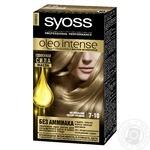 Краска для волос Syoss Oleo intense №7-10 натуральный светло-русый