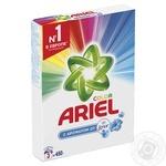 Порошок стиральный Ariel Color с ароматом от Lenor автомат 450г