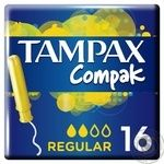 Tampax Compak Tampons Regular with applicator 16pcs