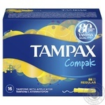 Tampons Tampax Regular with applicator 16pcs