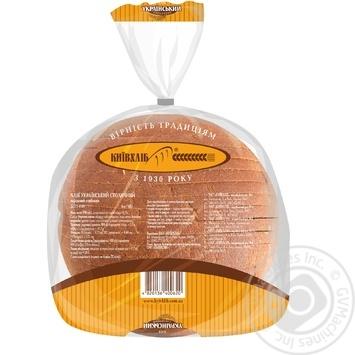 Хлеб КиевХлеб Украинский Столичный нарезанный 950г - купить, цены на Фуршет - фото 2