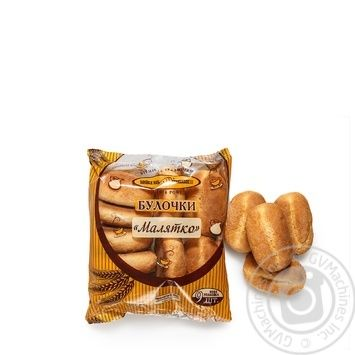 Bun Kyivkhlib Malyatko 9pcs 450g packaged - buy, prices for MegaMarket - image 2