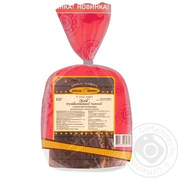 Kyivhlib Baltic dark with sunflower seeds half cutted bread 400g - buy, prices for Furshet - image 2