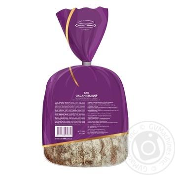 Хлеб Киевхлеб Бархатный половина нарезка 350г - купить, цены на Novus - фото 2