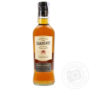 Bacardi Oakheart Spiced Rum 035% 0.5l - buy, prices for Novus - image 3