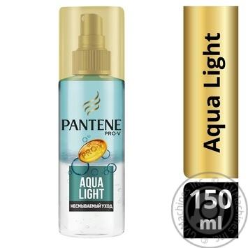 Спрей для волос Pantene Aqua Light Легкий питательный 150мл - купить, цены на Novus - фото 3