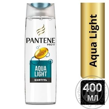 Pantene Pro-V Aqua Light Shampoo 400ml - buy, prices for Novus - image 2