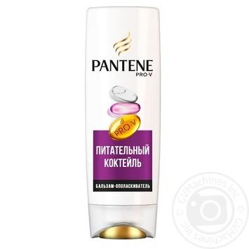 Бальзам-ополіскувач Pantene Pro-V Живильний коктейль Реновація волосся 360мл - купити, ціни на Novus - фото 2