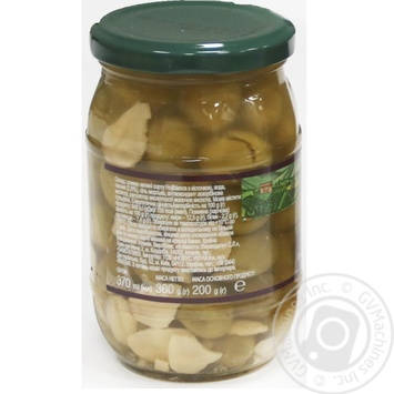olive Feudo verde with garlic green with bone 360g - buy, prices for Novus - image 3