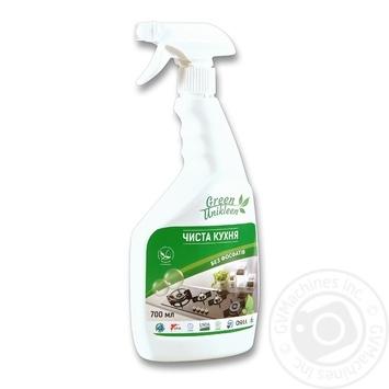 Засіб для чищення кухонних поверхонь Green Unikleen Чиста кухня 700мл - купити, ціни на Novus - фото 4