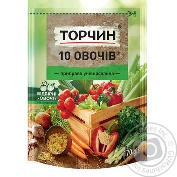 Приправа ТОРЧИН® 10 Овочів універсальна 170г - купити, ціни на Novus - фото 1