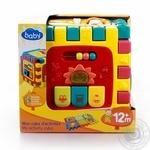 Іграшка One two fun Куб розвиваючий Звуки тварин