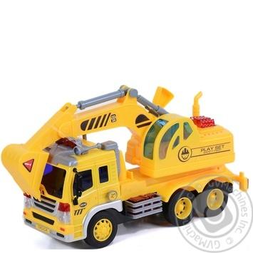 Іграшка Ашан машинка міська служба - купити, ціни на Ашан - фото 1