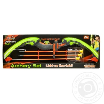 Glowing bow set and arrows Toy - buy, prices for MegaMarket - image 4