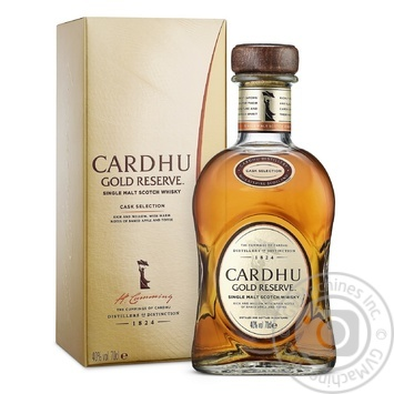 Cardhu Gold Reserve Whisky 40% 0,7l - buy, prices for Auchan - photo 1