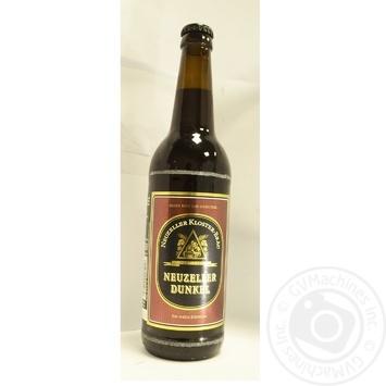 Пиво Kloster-Brau Neuzeller Dunkel темное 4,9% 0,5л - купить, цены на Novus - фото 3