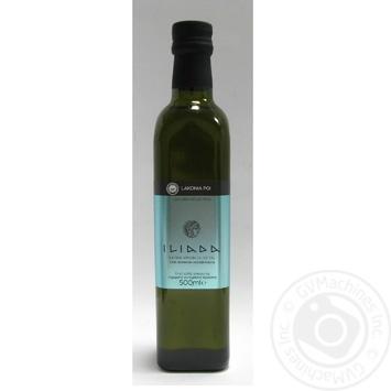 Масло оливковое Lakonia Pgi Илиада нерафинированное первого отжима 500мл