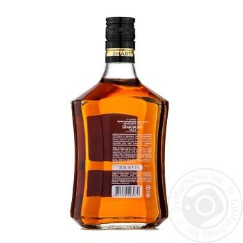 Shabo Shabsky 1882 Ukrainian Brandy 40% 0,5l - buy, prices for CityMarket - photo 5