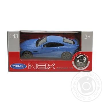 Іграшка Welly Jaguar XKR-S 1:43 Машинка - купити, ціни на Метро - фото 1