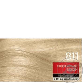 Brillance 811 Hair dye Scandinavian blond 142,5ml - buy, prices for Novus - image 2