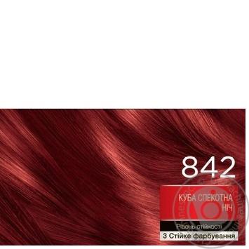 Краска для волос Brillance 842 Куба жаркая ночь 142,5мл - купить, цены на Novus - фото 2