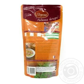 Бульон курячий Здорово Родинна вечеря 400г - купити, ціни на Novus - фото 3
