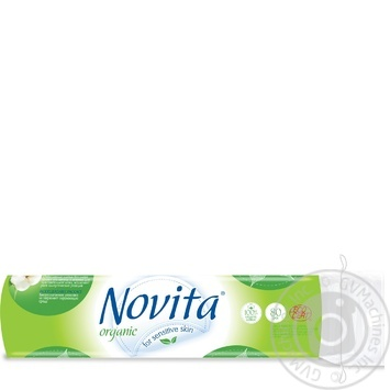 Диски ватные Novita Organic косметические 80шт - купить, цены на Восторг - фото 2
