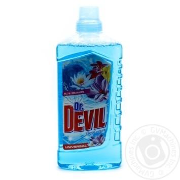 Засіб мийний рідкий універсальний Floral ocean  Dr. Devil 1л - купить, цены на Novus - фото 1
