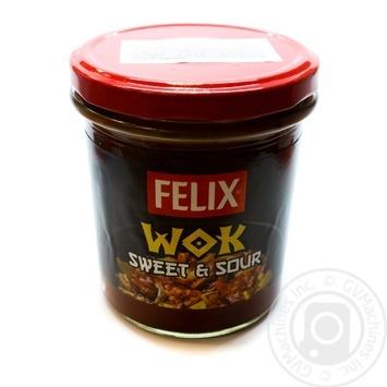 Соус Felix Wok кисло-сладкий 340г - купить, цены на Novus - фото 1