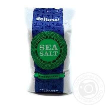 Сіль Гурме морська йодована (дрібного помолу) Deltasal 1кг - купити, ціни на Novus - фото 3