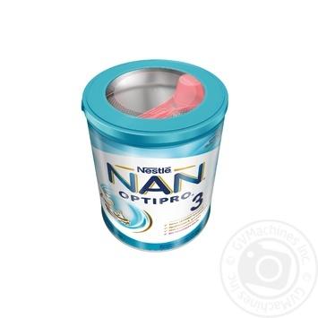 Смесь молочная Нестле Нан 3 сухая для детей с 12 месяцев 800г - купить, цены на Ашан - фото 2