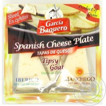 Сыр Carcia Baquero Манчего испанский Иберико 55% 150г