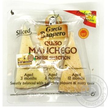 Сыр Carcia Baquero Манчего коллекционный 55% 110г - купить, цены на Novus - фото 1