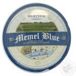 Сир 40% з блакитною пліснявою Мемель Блю Vilvi 140г
