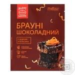 Суміш для випікання Pripravka Брауні шоколадний з цедрою апельсину 300г