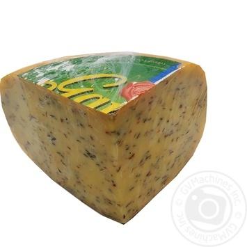 Сыр Gardeli Гауда с зелеными травами 50% - купить, цены на Novus - фото 1