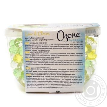 Ozone Crystal Beads Crystal air freshener on the basis of lime gel and carnation 150g - buy, prices for Novus - image 2