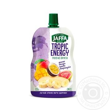 Смузі Jaffa Tropic Energy Манго-Банан-Гуава-Маракуйя 120г - купити, ціни на Novus - фото 1