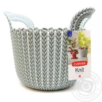 Кошик XS Knit 3L блакитна Сurver