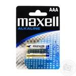 Maxell Alkaline Battery LR03 AAA 2pc