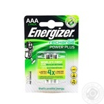 Аккумулятор Energizer Rech Power Plus AAA FSB 700mAh 2шт