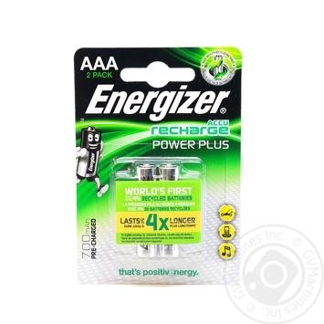 Акумулятор Energizer Rech Power Plus AAA 700 FSB 2 шт