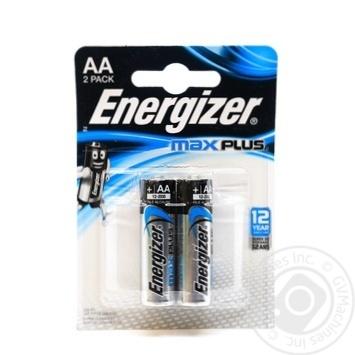 Батарейка ENERGIZER AA Max plus 2шт. - купити, ціни на Novus - фото 1