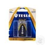 Батарейка 9V GOLD+ 6LR61 бл/1шт TESLA