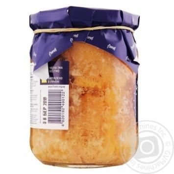 Мясо Индейки Frank пикантное в желе 460г - купить, цены на Novus - фото 2